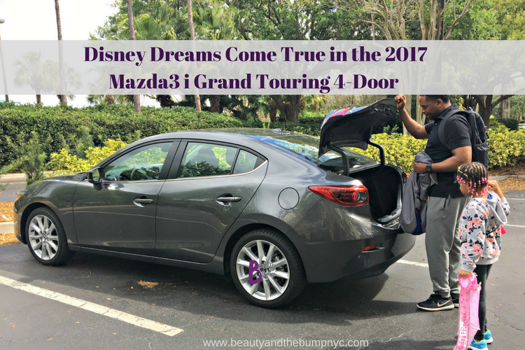 Disney Dreams Come True in the 2017 Mazda3 i Grand Touring 4-Door